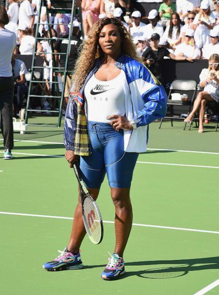 PHOTO: Serena Williams attends the 'Queens of Tennis' experience hosted by Nike at William F. Passannante Ballfield on August 20, 2019, in New York. (Gary Gershoff/Getty Images)