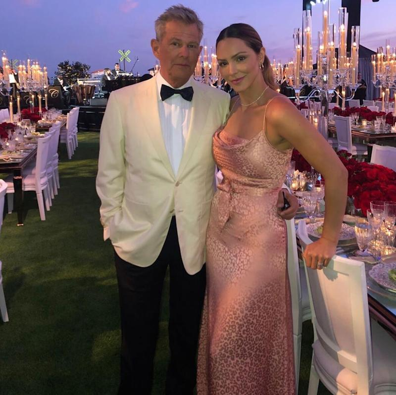David Foster S Daughters Joke Their Only Issue With His Wife Katharine Mcphee Is How Hot She Is