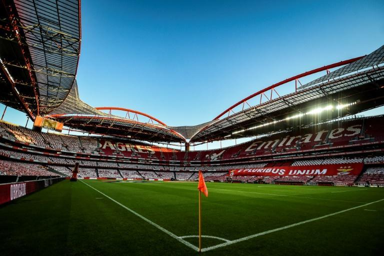 Benfica's Estadio da Luz in Lisbon, where the Champions League final will be played on August 23