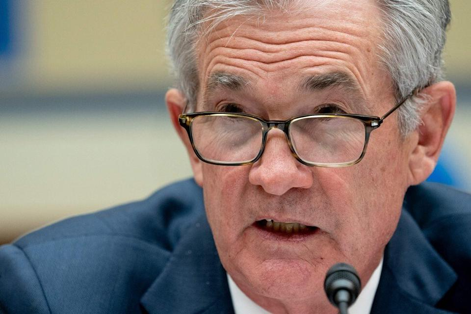Federal Reserve Chair Jerome Powell is supporting financial markets by unleashing liquidity. Photo: AFP