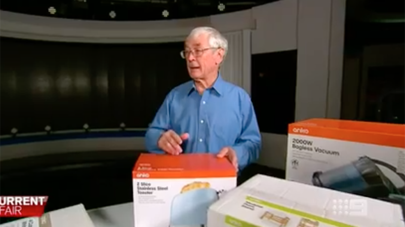 Dick Smith appears on A Current Affair
