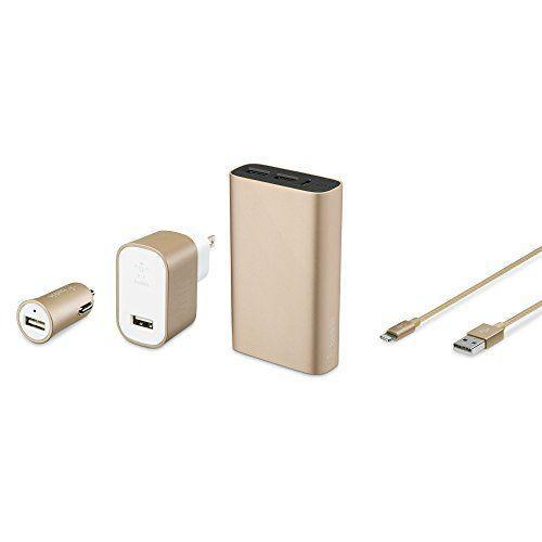 """<p><strong>Belkin</strong></p><p>amazon.com</p><p><strong>$29.99</strong></p><p><a href=""""https://www.amazon.com/dp/B01K9PJQX2?tag=syn-yahoo-20&ascsubtag=%5Bartid%7C10049.g.29194509%5Bsrc%7Cyahoo-us"""" rel=""""nofollow noopener"""" target=""""_blank"""" data-ylk=""""slk:Shop Now"""" class=""""link rapid-noclick-resp"""">Shop Now</a></p><p>With a car charger, wall charger, and external charger, they can make sure their phone is on 100 percent at all times.</p>"""