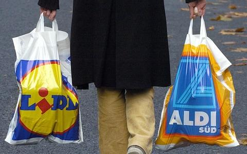 German discounters  - Credit: Alamy