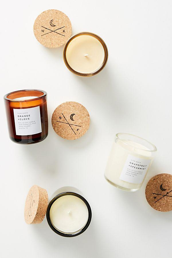 """<p><strong>Anthropologie</strong></p><p>anthropologie.com</p><p><strong>Out of Stock</strong></p><p><a rel=""""nofollow"""" href=""""https://www.anthropologie.com/shop/slow-north-jar-candle"""">BUY NOW</a></p><p>Coffee and spice, orange and clove, grapefruit and spearmint, or rosemary and lemon-these slow-burning candles offer four magical scents, each one perfect for the holidays. </p>"""