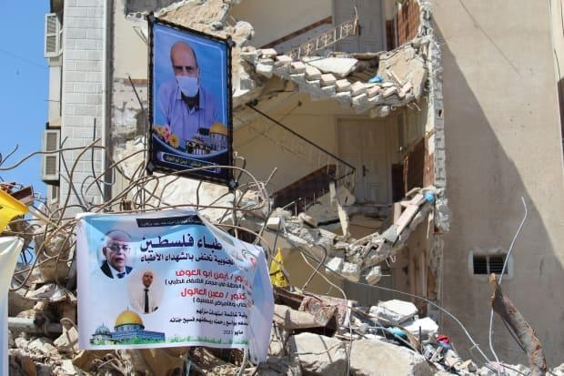 Dr. Ayman Abu al-Ouf, a senior doctor at the largest hospital in the Gaza Strip, was killed by an Israeli air strike on May 16.