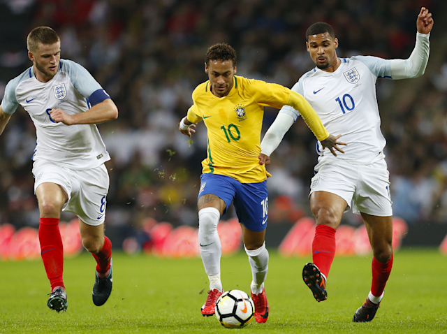 Video nasty: Gareth Southgate's 23-man squad to Russia has been announced – in an irritating way
