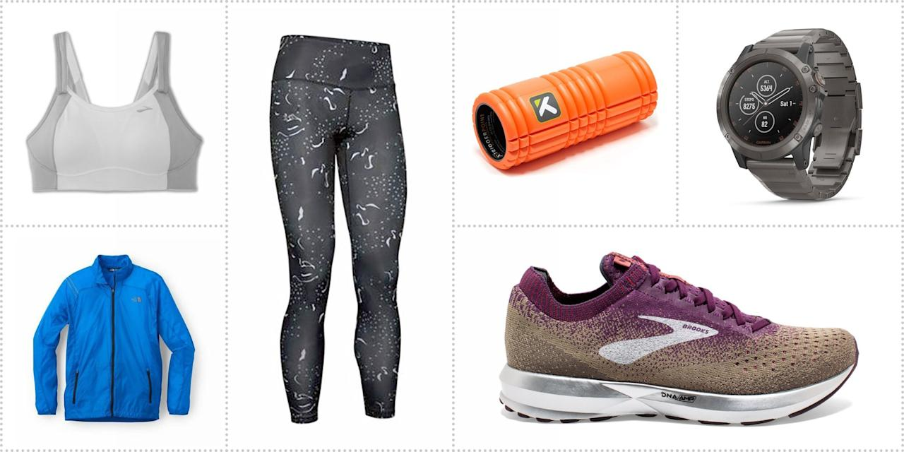 """<p>The countdown until the holidays is ticking, but that doesn't mean you can't still score deals and receive them before December 25. REI is helping out by offering tons of <a href=""""https://www.rei.com/h/holiday-deals"""" target=""""_blank"""">last-minute holiday deals</a> on <a href=""""https://www.rei.com/c/running/f/scd-deals"""" target=""""_blank"""">running and outdoor gear</a> through December 24. With discounts up to 40 percent off, you can score new shoes or apparel for winter runs, or stock up on some gear for when you ditch the treadmill come warmer weather. We found our favorite 15 products at great discounts at REI to help you get started shopping for yourself or your runner friends.<br></p>"""