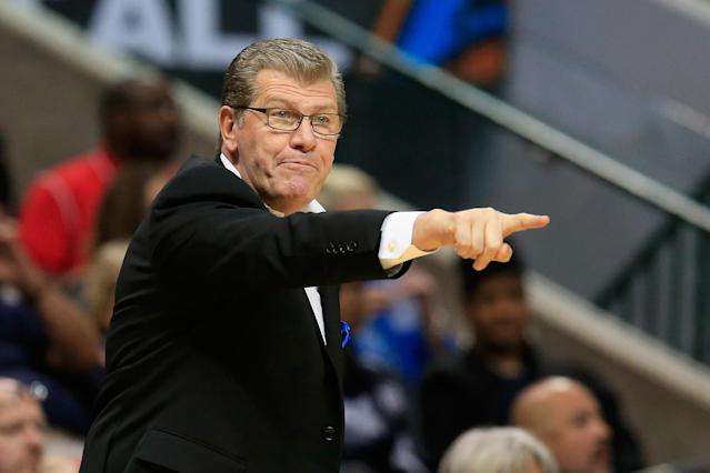 Geno Auriemma is on the cusp of winning his 1,000th game as head coach at UConn. (Getty Images)