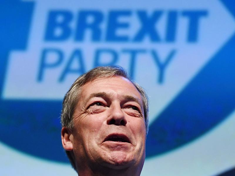 Brexit: 40 per cent of Tory councillors to back Farage's new party in EU elections as revolt against May grows