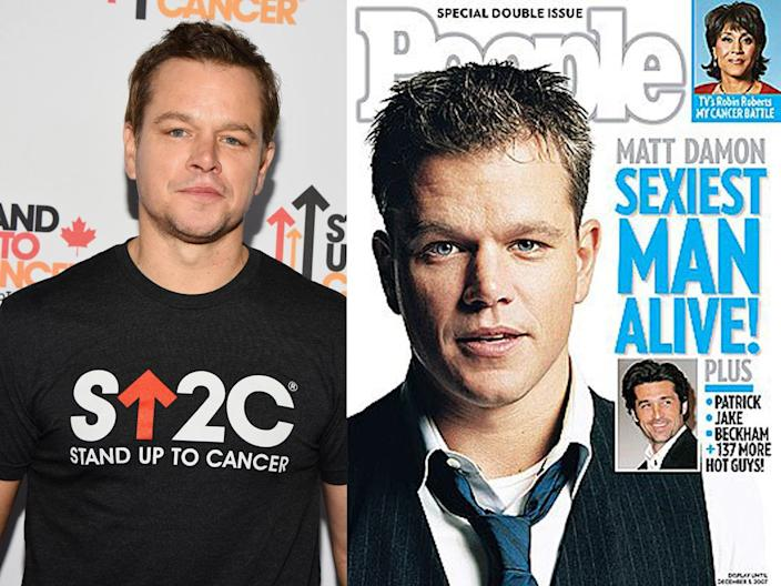 matt damon people sexiest man