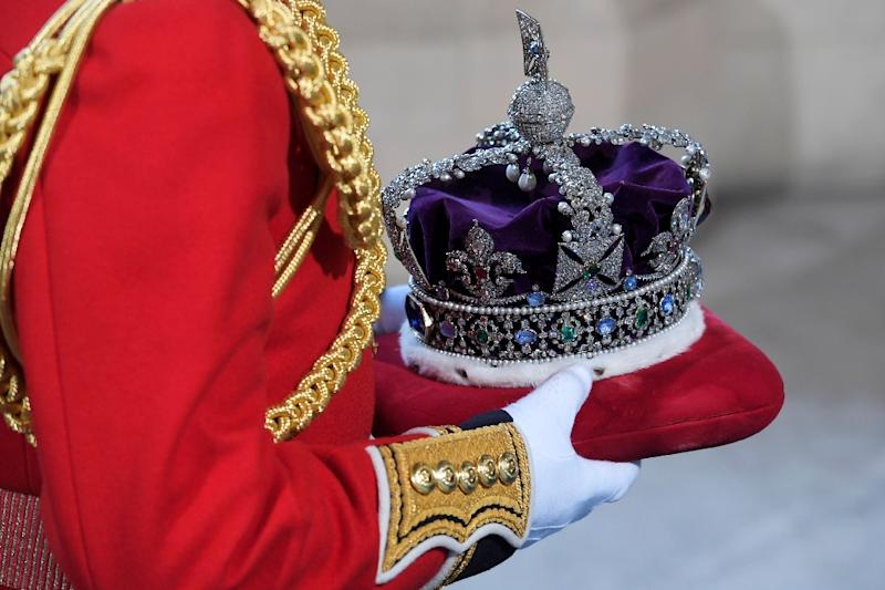 Gems, including the Black Prince's Ruby from the Imperial State Crown, were buried in the biscuit tin