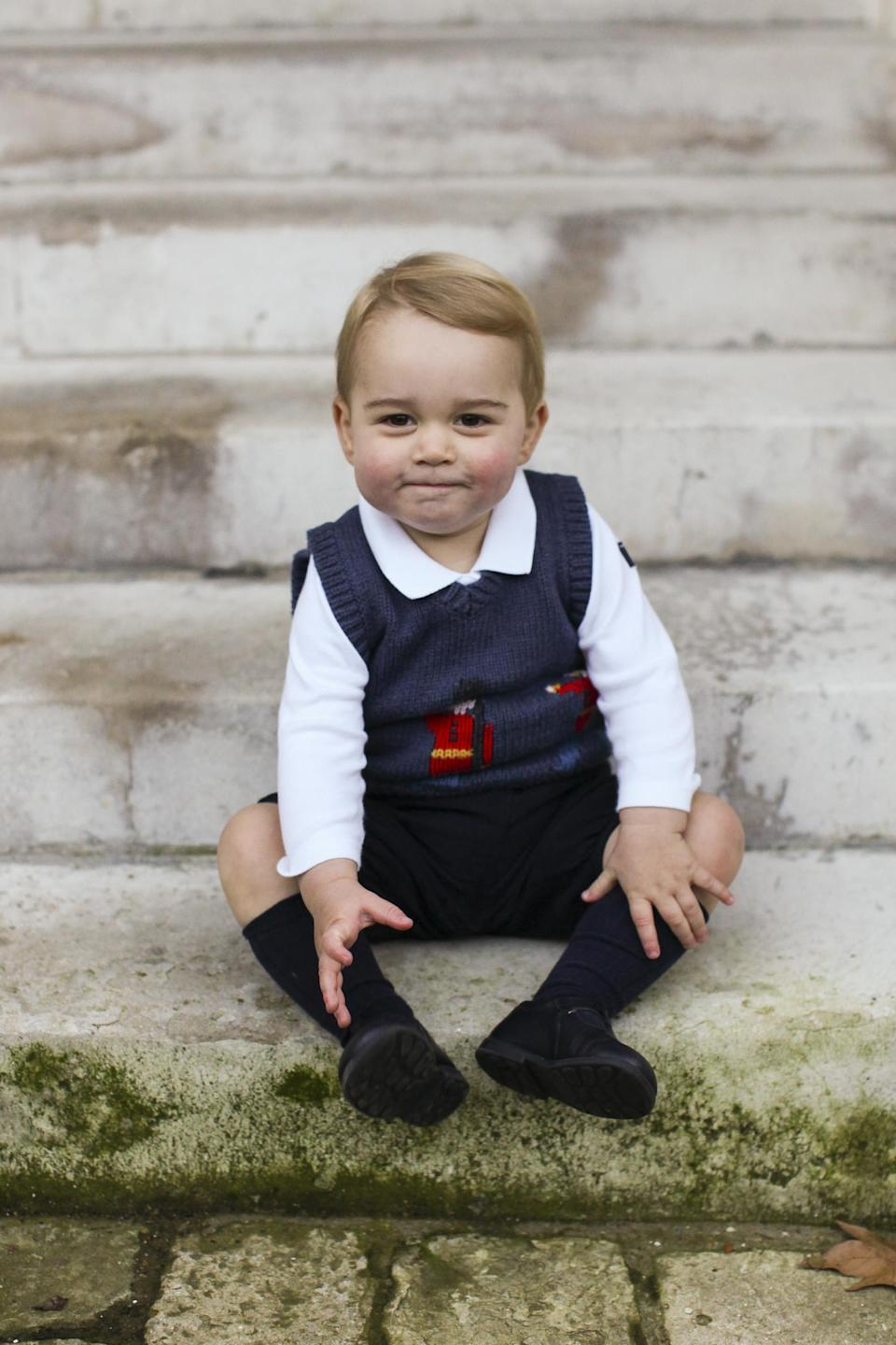 Prince George in 2014 (HRH The Duke and Duchess of Cambridge)