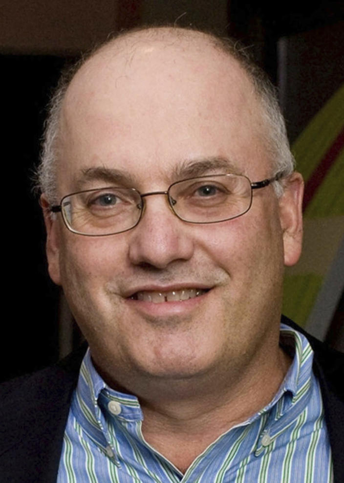 FILE - In this Dec. 10, 2009 file photo, billionaire hedge fund manager Steve Cohen attends a benefit in New York. Major League Baseball owners voted Friday, Oct. 30, 2020, to approve the sale of the New York Mets to Cohen. The sale from the Wilpon and Katz families values the franchise at between $2.4 billion and $2.45 billion, a record for a baseball team. The sale is likely to close within 10 days. (AP Photo/File)