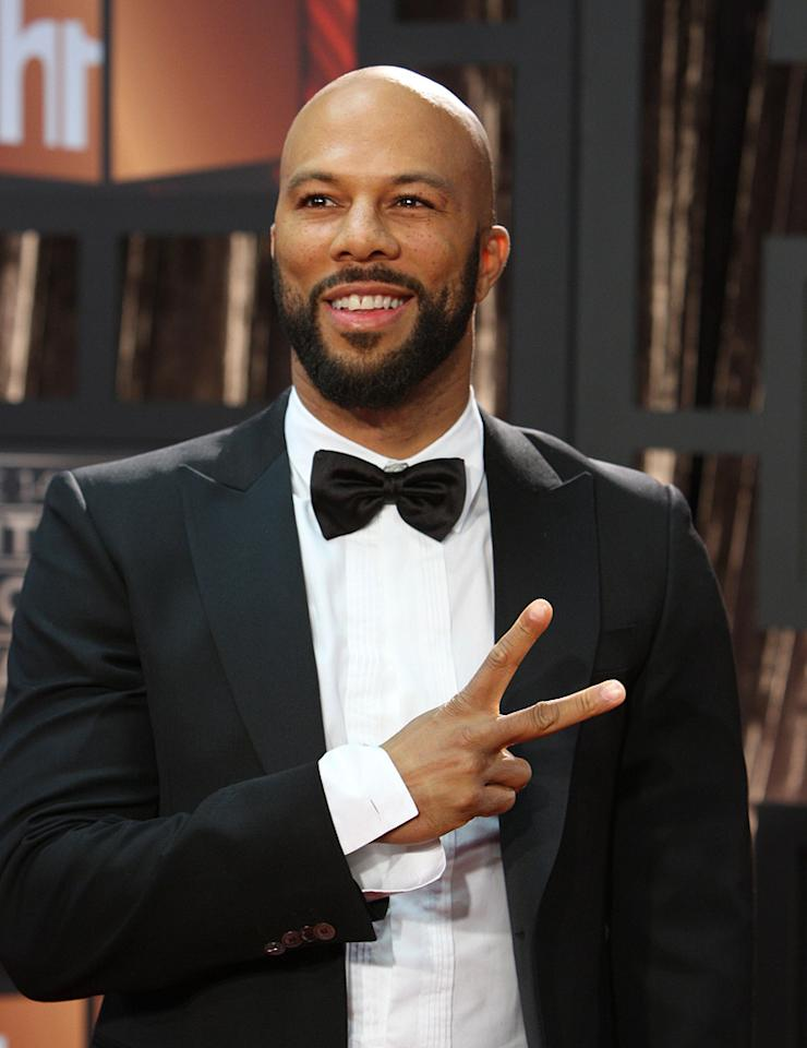 "<a href=""http://movies.yahoo.com/movie/contributor/1801929114"">Common</a> at the 14th Annual Critics' Choice Awards in Santa Monica - 01/08/2009"