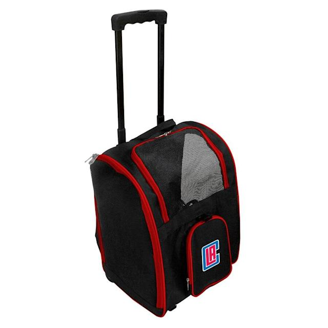 Clippers 2-Wheeled Roller Pet Carrier
