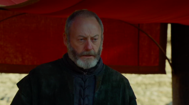 Liam Cunningham in the Season 7 finale of  <em>Game of Thrones</em>. (Photo: HBO)