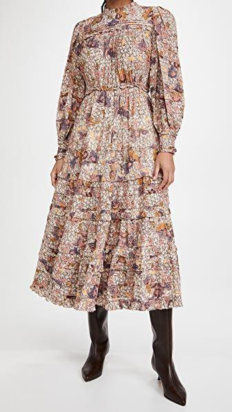 "<p><strong>Ulla Johnson</strong></p><p>shopbop.com</p><p><strong>$473.10</strong></p><p><a href=""https://go.redirectingat.com?id=74968X1596630&url=https%3A%2F%2Fwww.shopbop.com%2Flaraline-dress-ulla-johnson%2Fvp%2Fv%3D1%2F1541013222.htm&sref=https%3A%2F%2Fwww.townandcountrymag.com%2Fstyle%2Fg35279079%2Fella-emhoff-meena-harris-prairie-dress-inauguration%2F"" rel=""nofollow noopener"" target=""_blank"" data-ylk=""slk:Shop Now"" class=""link rapid-noclick-resp"">Shop Now</a></p>"