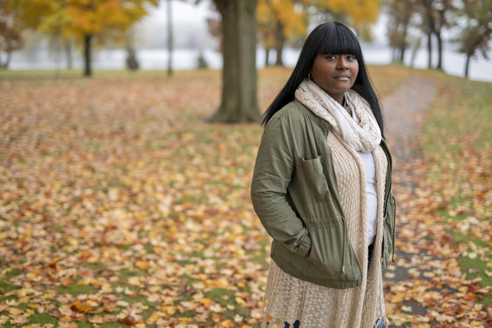 Darnisha Garbade started the Burlington Coalition for Dismantling Racism. (Darren Hauck / for NBC News)
