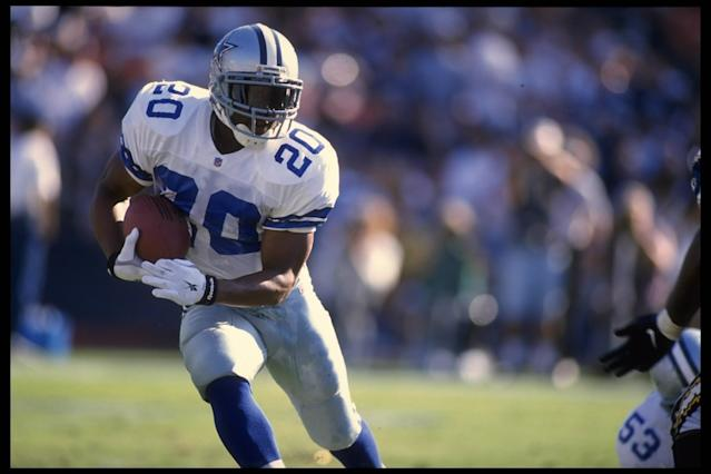 Sherman Williams played five seasons in the NFL, all with the Dallas Cowboys. (Getty Images)