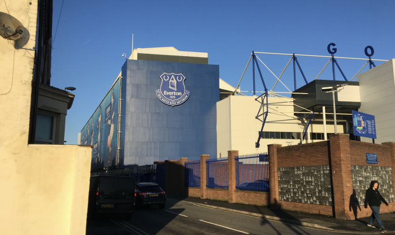 Everton, like rivals Liverpool, have their stadium in the constituency.