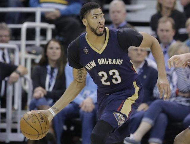 "<a class=""link rapid-noclick-resp"" href=""/nba/players/5007/"" data-ylk=""slk:Anthony Davis"">Anthony Davis</a> is easily the best player from the 2012 draft. (AP)"
