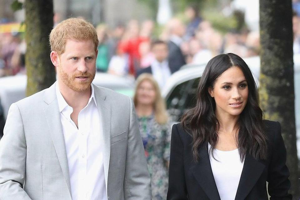 The Duke and Duchess of Sussex transformed their website Archewell in memory of the attacks  (Getty Images)