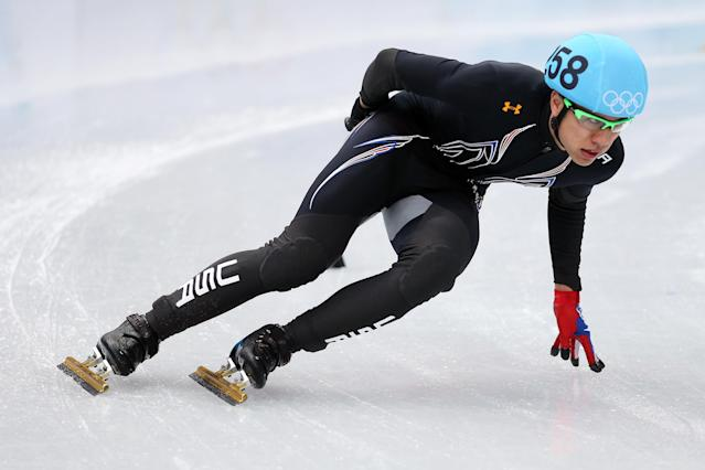 <p>JR Celski almost never became an Olympian. In 2010, he crashed during the U.S. Olympic Trials and sliced his leg, requiring emergency surgery, 60 stitches and five months of rehab. He came back from that to win two bronze medals. Now eight year later, Celski has overcome hip surgery as well as a knee and back injury to compete in his third Olympics and earn an elusive gold medal. </p>