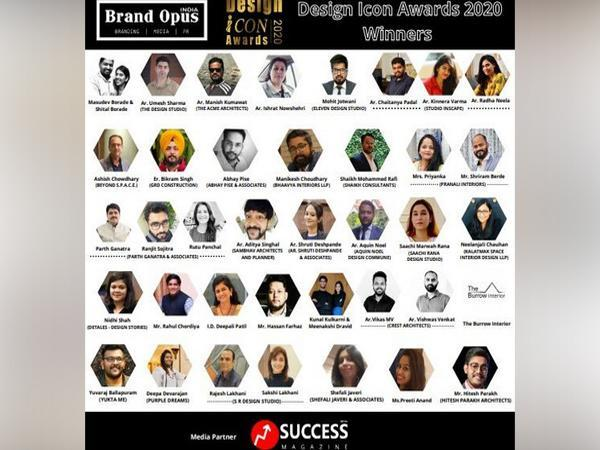 Brand Opus India - Design Icon Awards - 2020  Winners