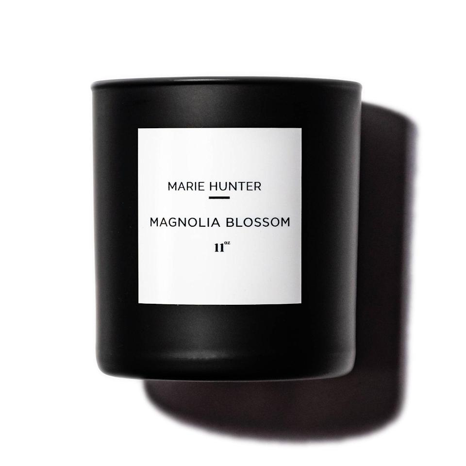 """<p><strong>Marie Hunter</strong></p><p>mariehunterbeauty.com</p><p><strong>$5.00</strong></p><p><a href=""""https://www.mariehunterbeauty.com/homefragrance/magnolia-blossom-signature-candle"""" rel=""""nofollow noopener"""" target=""""_blank"""" data-ylk=""""slk:Shop Now"""" class=""""link rapid-noclick-resp"""">Shop Now</a></p><p>Is social distancing destroying your travel plans? If you answered """"oui,"""" why not *try* to pretend that you're in the city of light with this candle inspired by France that will fill your home with romantic florals. </p>"""