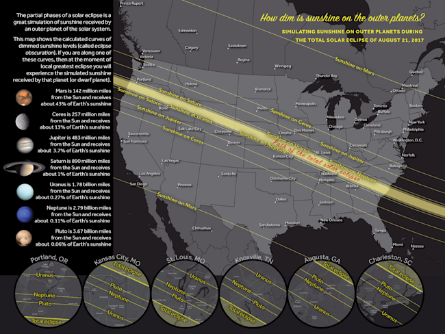 total solar eclipse map darkness level greatamericaneclipse michael zeiler esri 12