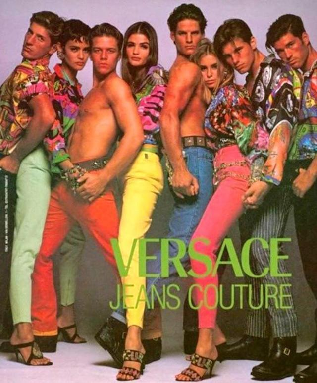 <p>When high-end fashion brands also got into the denim game. (Photo: Versace) </p>