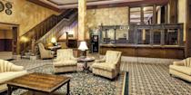 """<p><a href=""""https://go.redirectingat.com?id=74968X1596630&url=https%3A%2F%2Fwww.tripadvisor.com%2FHotel_Review-g43018-d115945-Reviews-Fitger_s_Inn-Duluth_Minnesota.html&sref=https%3A%2F%2Fwww.redbookmag.com%2Fabout%2Fg34149750%2Fmost-historic-hotels%2F"""" rel=""""nofollow noopener"""" target=""""_blank"""" data-ylk=""""slk:Fitger's Inn"""" class=""""link rapid-noclick-resp"""">Fitger's Inn</a>, on the shore of Lake Superior in Duluth, started life as a brewery back in 1881. Today, the 62-room modern hotel is part of the massive Fitger's complex, listed on the National Register of Historic Places, which also includes shops and restaurants. The brewery's smokestack is still visible from many parts of the city. </p>"""