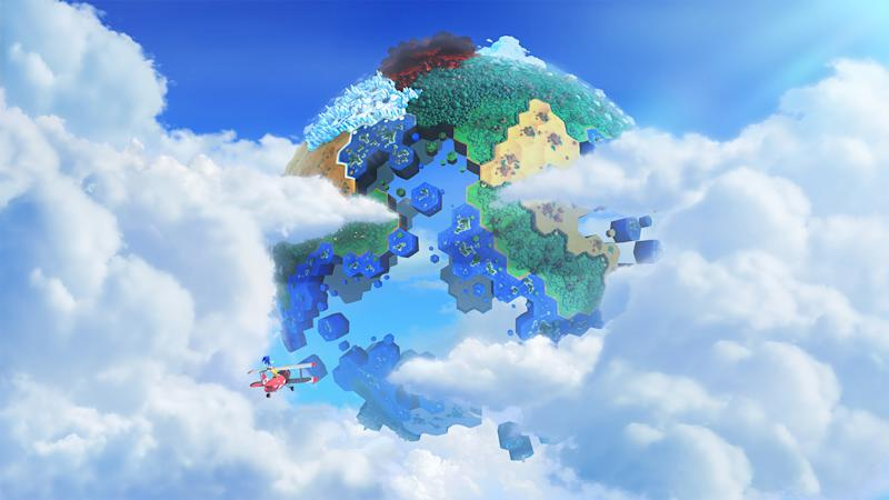 """This undated publicity photo released by Sega shows the video game, """"Sonic Lost World."""" It is set for release on the Wii U and Nintendo 3DS later this year. (AP Photo/Sega)"""