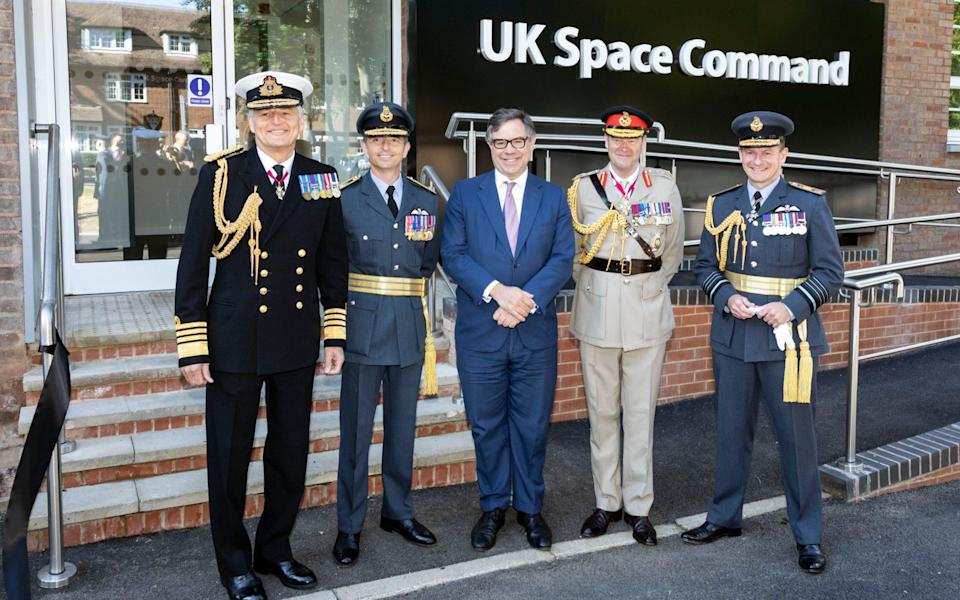 UK Space Command - Royal Air Force