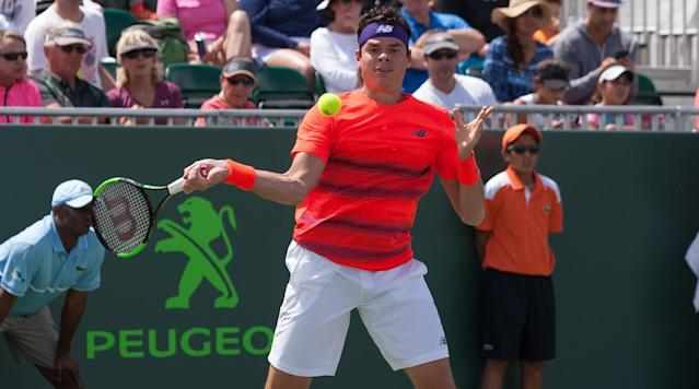 KEY BISCAYNE, Fla. (AP) Milos Raonic has pulled out of the Miami Open after aggravating a right hamstring injury that sidelined him for nearly a month.