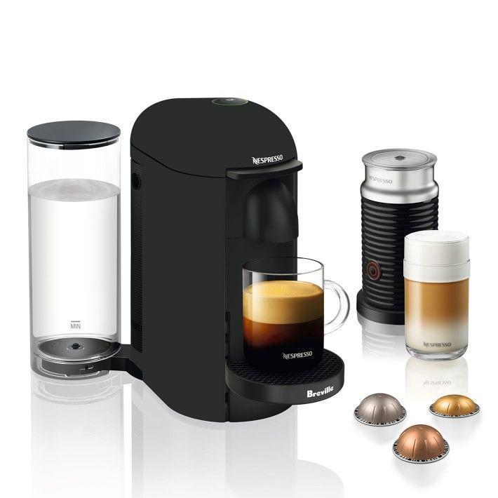 """<p><strong>Nespresso</strong></p><p>williams-sonoma.com</p><p><strong>$149.95</strong></p><p><a href=""""https://go.redirectingat.com?id=74968X1596630&url=https%3A%2F%2Fwww.williams-sonoma.com%2Fproducts%2Fnespresso-vertuoplus-matte-black-coffee-machine-breville&sref=https%3A%2F%2Fwww.cosmopolitan.com%2Fstyle-beauty%2Ffashion%2Fg27349308%2Fnew-dad-gift-ideas%2F"""" rel=""""nofollow noopener"""" target=""""_blank"""" data-ylk=""""slk:Shop Now"""" class=""""link rapid-noclick-resp"""">Shop Now</a></p><p>He'll be sure to appreciate this coffee maker when those early mornings roll around. </p>"""