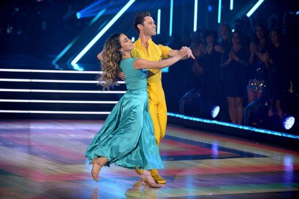 PHOTO: Ally Brooke and Sasha Farner appear on 'Dancing with the Stars.' Oct. 21, 2019. (Eric Mccandless/ABC<p>)