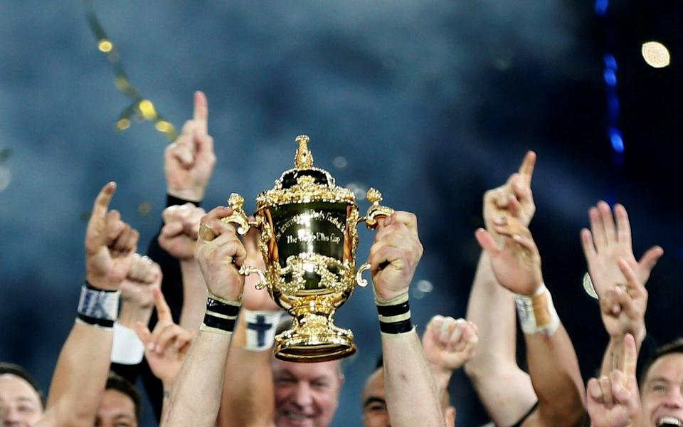 The All Blacks won for a third time four years ago - but who will it be this time? - Reuters