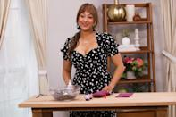 <p>Tamera Mowry prepares to film on the set of Hallmark Channel's <em>Home & Family</em> at Universal Studios Hollywood on Tuesday in Universal City, California.</p>