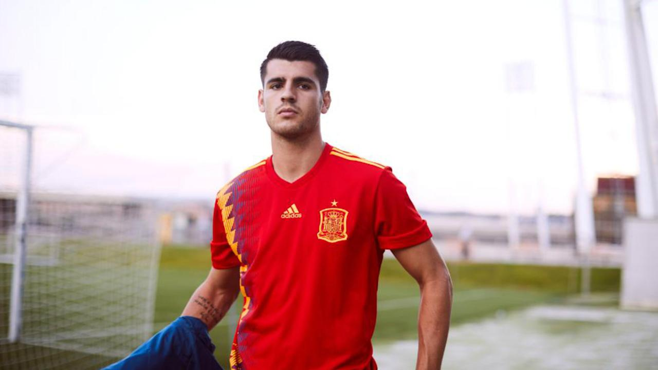 La Roja won the tournament for the first time just under a decade ago and they will be hoping their new kit can bring some luck