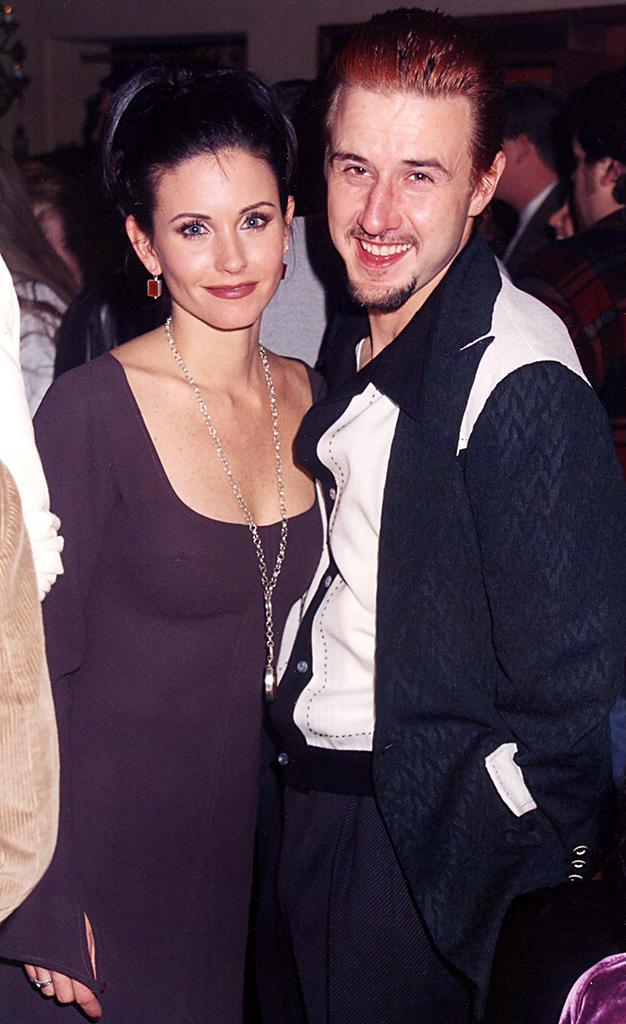 <p>The <em>Friends</em> superstar met future-husband David Arquette while filming <em>Scream</em>. Although now divorced, they were together for over 13 years and have one daughter. (Photo: Jeff Kravitz/FilmMagic) </p>