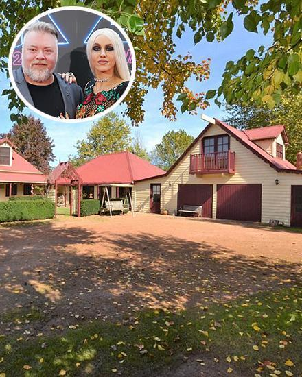 <p>Inside Kyle Sandilands and Imogen Anthony's $3M estate</p>