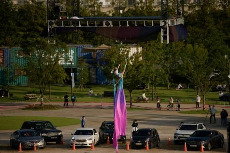 The New Normal? South Korea Launches Drive-In Circus to Maintain Social Distancing