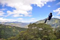 <p>The swings hanging from La Casa Del Arbol in Baños, Ecuador, will make you feel like you're on top of the world - literally.</p>