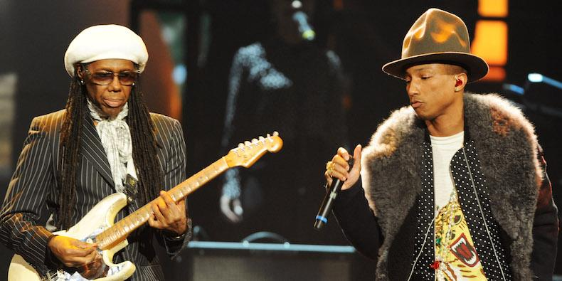 Rock Hall 2017: Pharrell to Induct Nile Rodgers, Lenny Kravitz to Play Prince Tribute