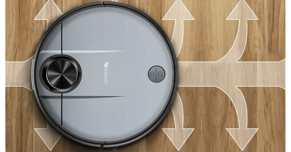 Proscenic M6 PRO Wi-Fi Connected Robot Vacuum Cleaner and Mop (Photo: Amazon)