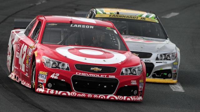 "The rising star, second in Cup Series points standings, ""will still be on the track for a long time,"" Chip Ganassi says."