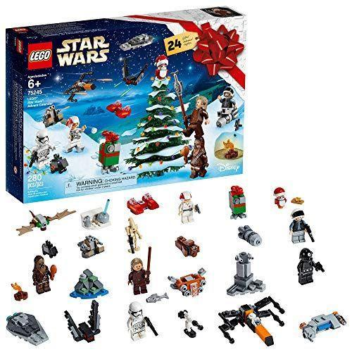 "<p><strong>LEGO</strong></p><p>amazon.com</p><p><strong>$47.80</strong></p><p><a href=""https://www.amazon.com/dp/B07Q1K2ZYZ?tag=syn-yahoo-20&ascsubtag=%5Bartid%7C10055.g.29613883%5Bsrc%7Cyahoo-us"" rel=""nofollow noopener"" target=""_blank"" data-ylk=""slk:Shop Now"" class=""link rapid-noclick-resp"">Shop Now</a></p><p>If your kids love LEGOs or <em>Star Wars</em>, they'll adore this alternative advent calendar. The set organizes its 280 pieces into 24 buildable toy projects, one for each day of the holiday season.</p><p><strong>RELATED: </strong><a href=""https://www.goodhousekeeping.com/holidays/gift-ideas/g29624061/star-wars-gifts/"" rel=""nofollow noopener"" target=""_blank"" data-ylk=""slk:The Best Star Wars Gifts for Kids, Adults, Rebels, Jedi, Princesses, Bounty Hunters, Sith, and Everyone Else"" class=""link rapid-noclick-resp"">The Best Star Wars Gifts for Kids, Adults, Rebels, Jedi, Princesses, Bounty Hunters, Sith, and Everyone Else</a></p>"