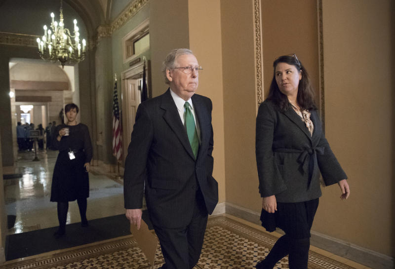 GOP budget that's key to taxes moving ahead in Senate