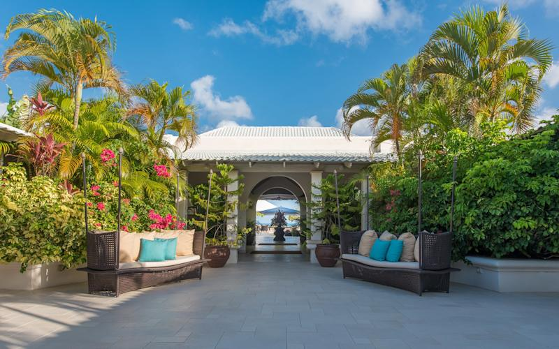In Grenada for the final leg of their Caribbean tour, the Prince of Wales and the Duchess of Cornwall stayed in Grenada's most sumptuous accommodation: the Cinnamon Suite - andygjohson@outlook.com